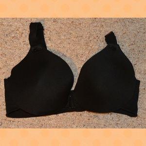 Other - Black Front Clasp Bra 38C Soft Elastic